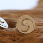 opus 4  Ohrstecker aus Silber, Durchmesser 20 mm, 53,- €