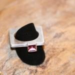 reprise  8    Silberring mit rosa Turmalin, Größe 58,    135,- €